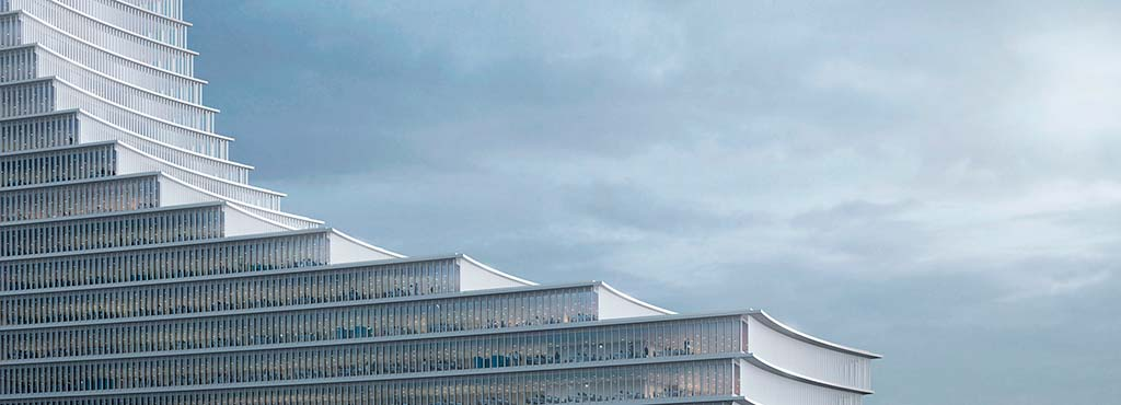 Ступенчатый небоскрёб от Дэвида Чипперфилда