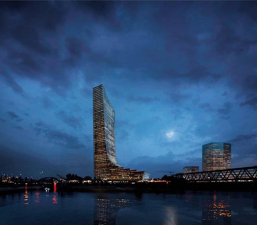 Самый высокий небоскрёб Гамбурга. Проект Дэвида Чипперфилда