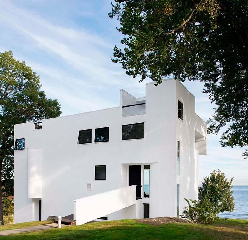 Смитс Хауз в Коннектикуте. Проект Ричарда Мейера