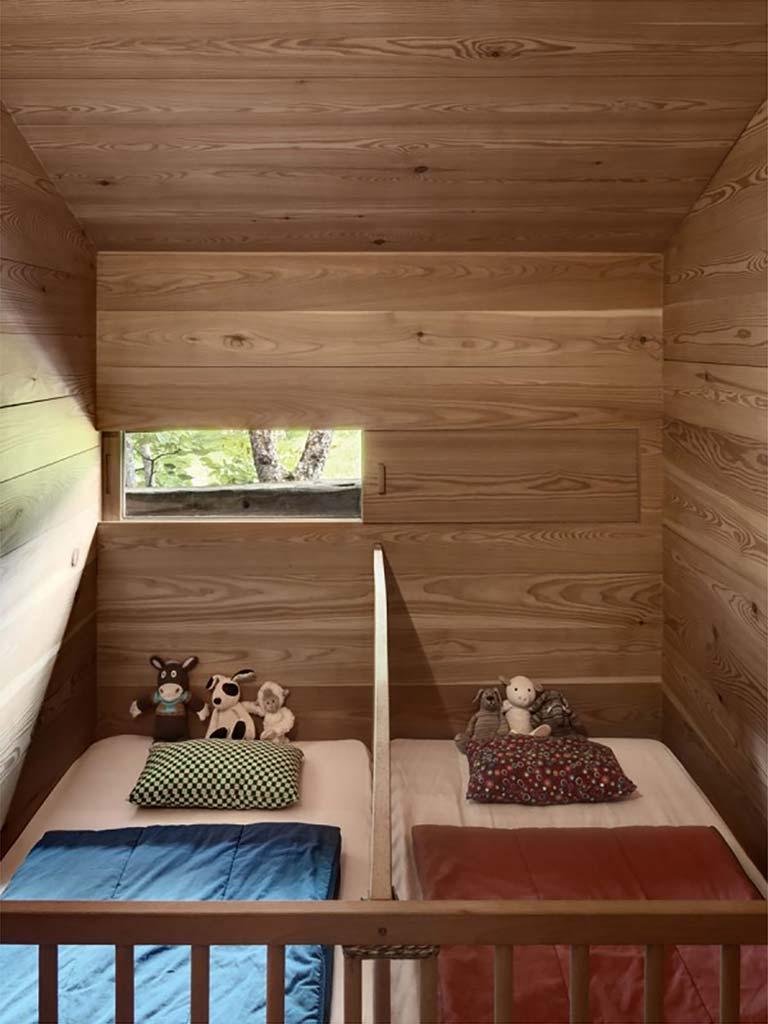 Дуб в дизайне детской спальни