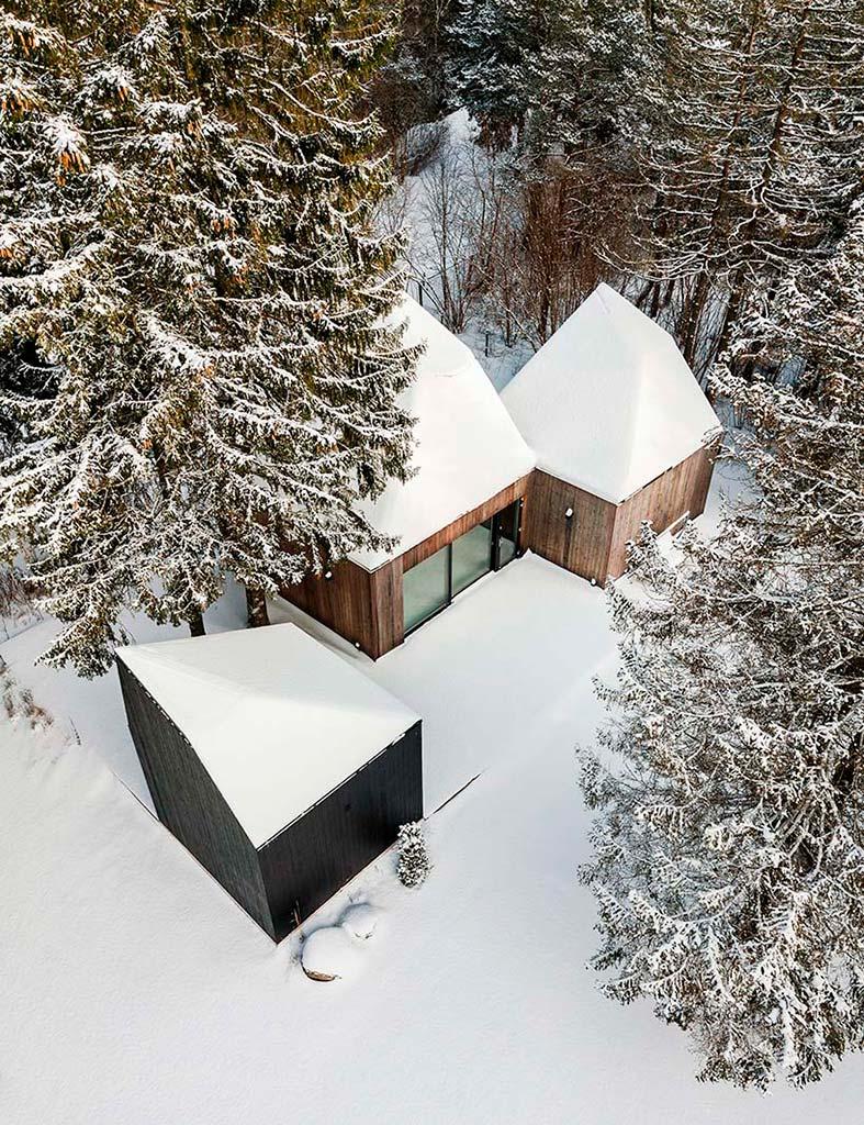 Красивый деревянный дом в Эстонии от KUU Arhitektid
