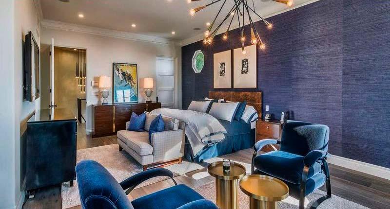 Дизайн главной спальни в доме