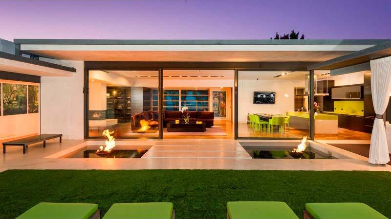 Дом Мэттью Перри в Лос-Анджелесе
