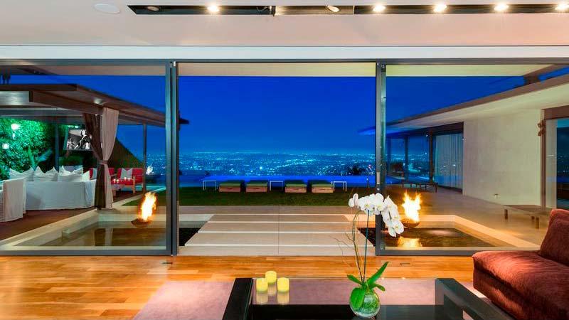 Дизайн дома Мэттью Перри в Голливуде