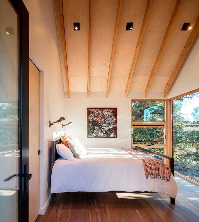 Спальня с видом на долину
