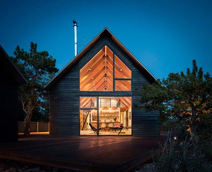 Деревянный дом в Колорадо