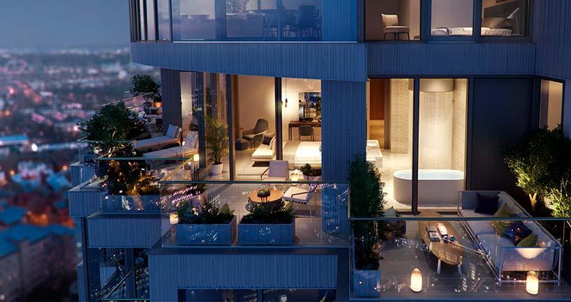 Элитные квартиры в башне One Park Drive