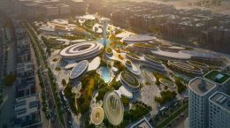 Zaha Hadid Architects начнет мега-стройку на $6,8 млрд в ОАЭ