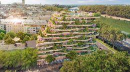 Винсент Каллебо предложил ЖК в виде многоуровневого сада