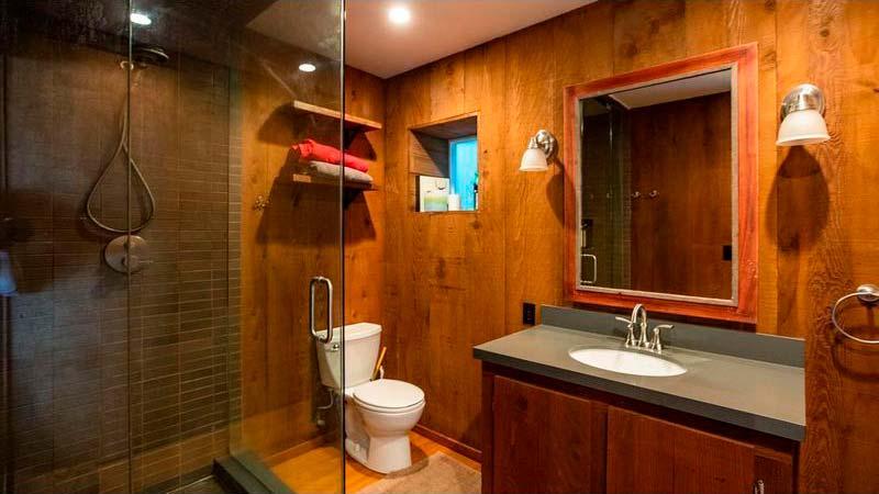 Дизайн ванной комнаты в пляжном бунгало