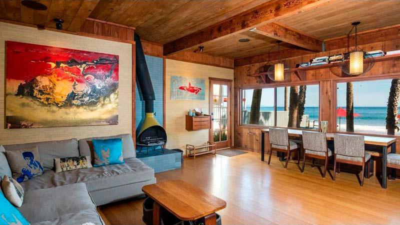 Дизайн интерьера гостиной в деревенском стиле
