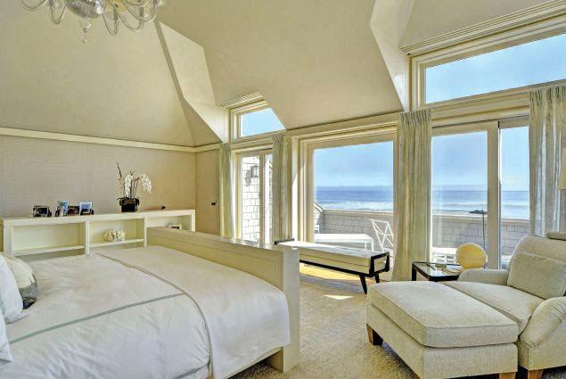 Спальня с видом на Атлантический океан