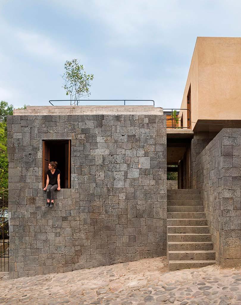 Каменный дом в Мексике. Проект REA