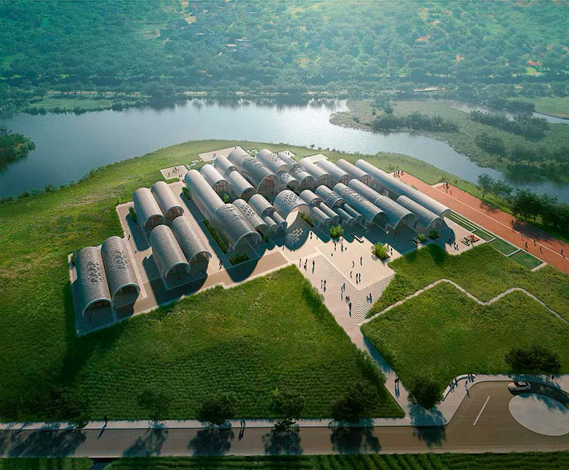 Школа в Китае. Проект Zaha Hadid Architects