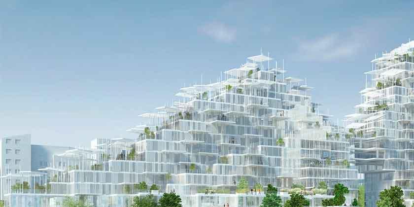 В Париже будет построена вертикальная деревня | фото