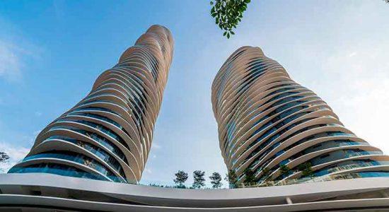 В Малайзии построили волнистые башни Arte S