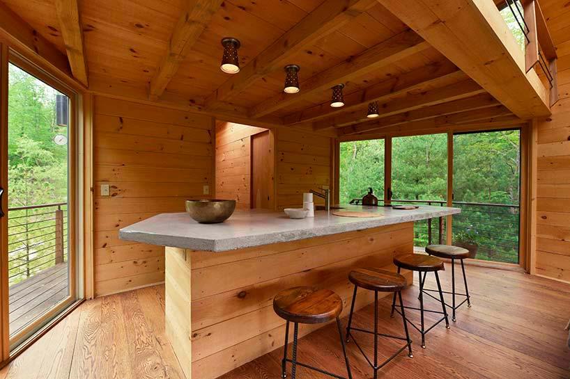 Деревенский дизайн интерьера