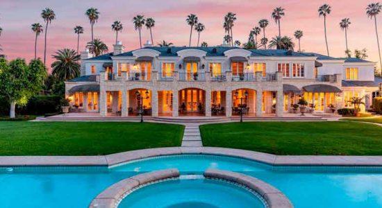 Дом-дворец во французском стиле в Беверли-Хиллз за $24,75 млн
