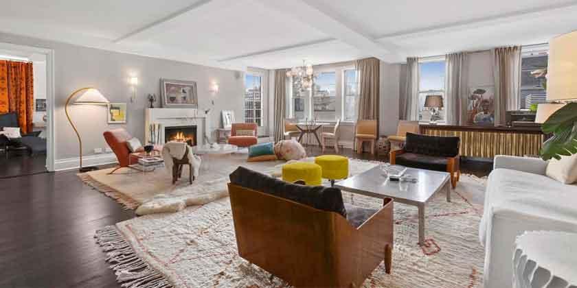 Мариса Томей продает квартиру на Манхэттене | фото и цена