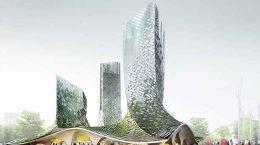 XTU Architects планирует комплекс небоскребов органической формы