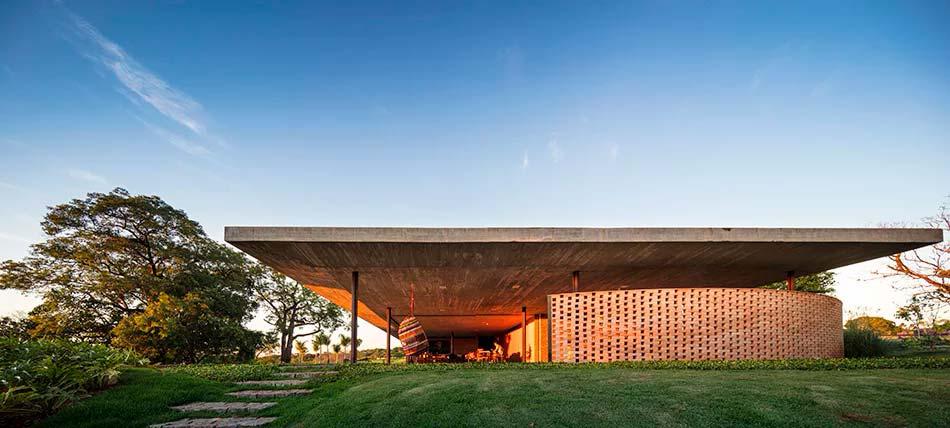 Вилла Planar House от Studio MK27
