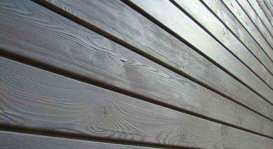 Применение крашеной фасадной доски в строительстве