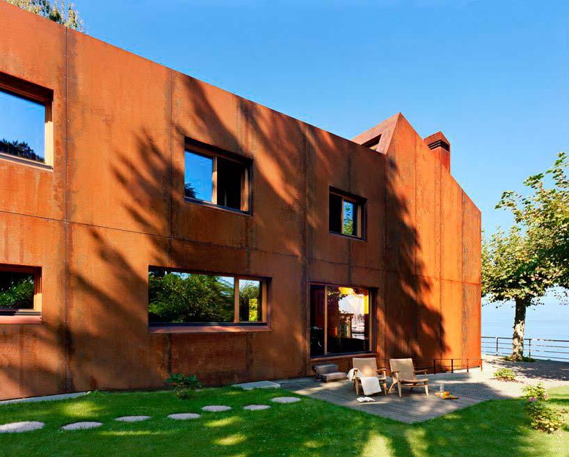 Casa 26 - дом на берегу Женевского озера