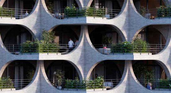 Penda представила план 18-этажного небоскреба для Тель-Авива