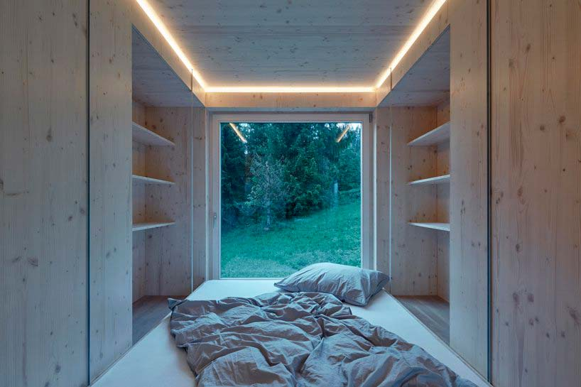 Спальня в доме от ARK Studio
