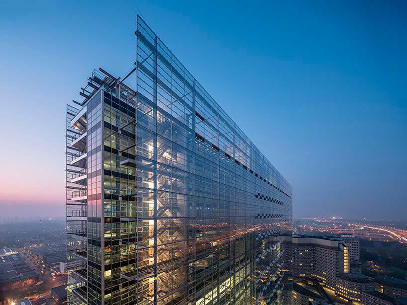 Новое здание ЕПВ в Рейсвейке от Жана Нувеля