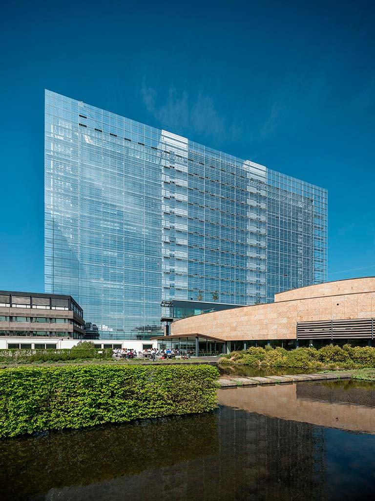 Здание Европейского Патентного Ведомства на 2000 сотрудников