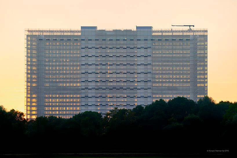 Новое здание Европейского Патентного Ведомства от Жана Нувеля