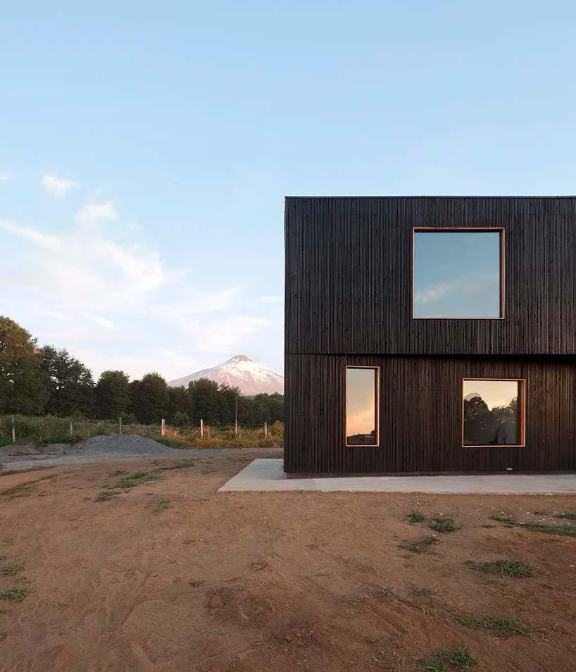 Минималистский дом в Чили
