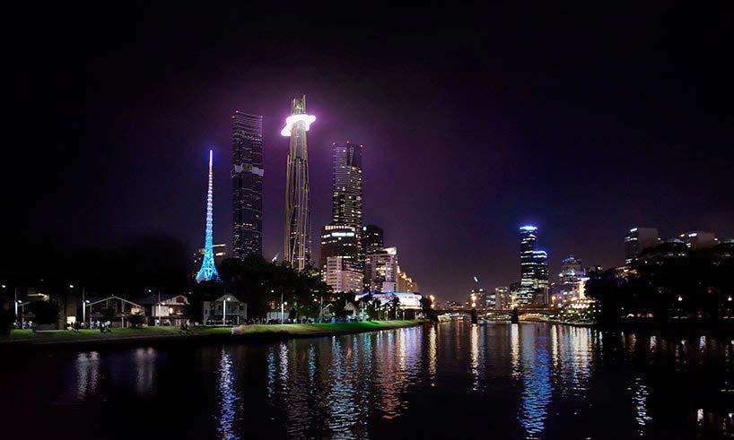 Светящееся облако небоскреба от MAD Architecture