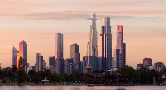 Бюро MAD предложило зеленый небоскреб для Мельбурна | фото