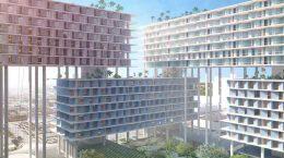 BIG построит жилой квартал на сваях в Майами