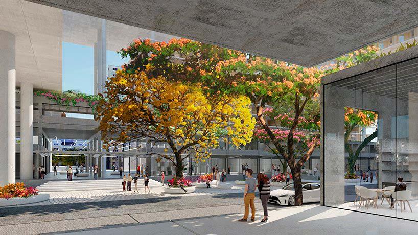 Многоквартирный комплекс Miami Produce. Проект BIG