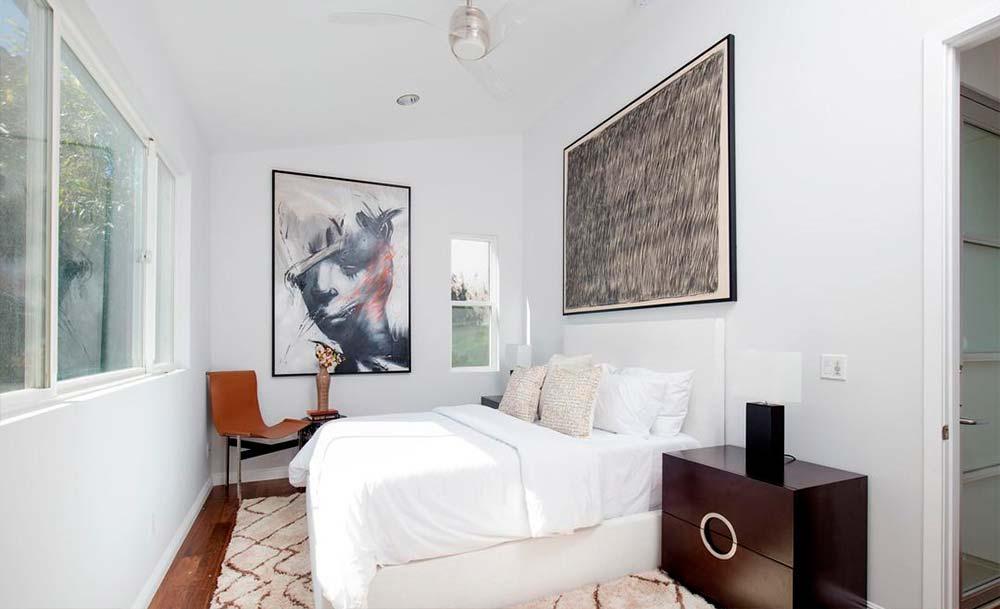 Дизайн интерьера компактной спальни