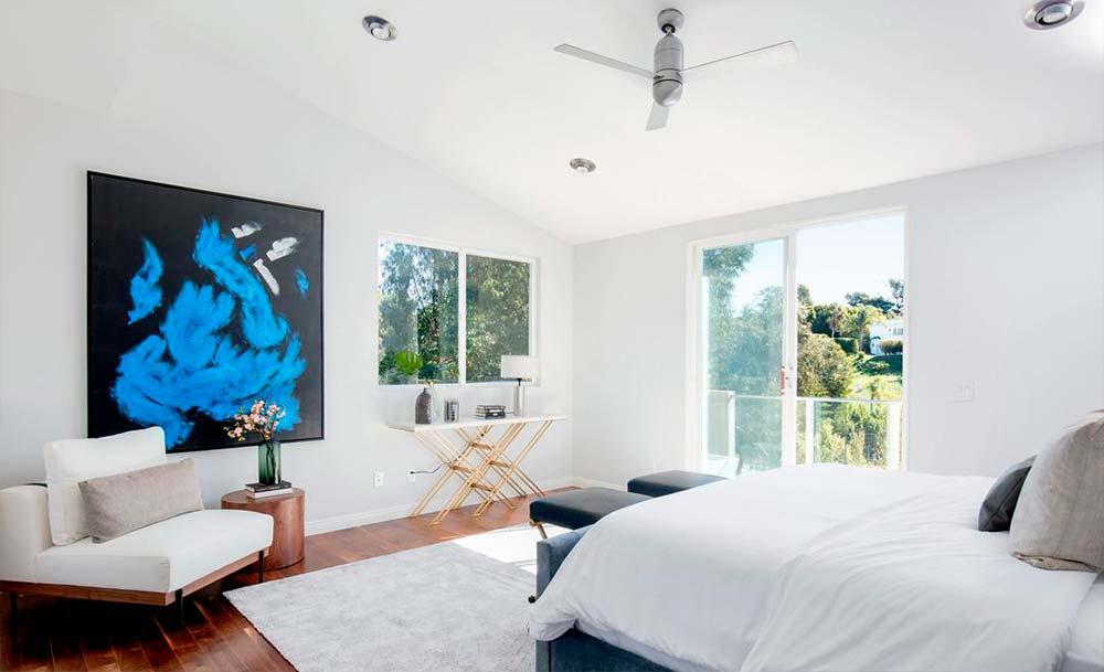 Спальня в доме Билли Боб Торнтона