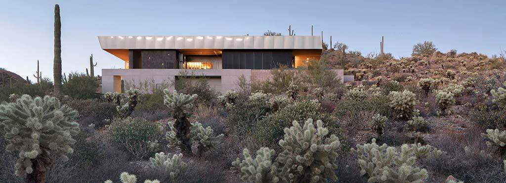 Дом в пустыне. Проект Wendell Burnette Architects