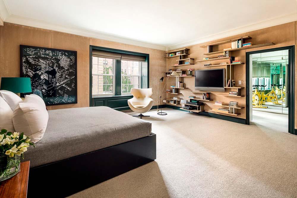 Квартира с четырьмя спальнями в Нью-Йорке