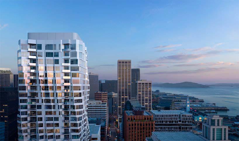 40-этажная башня MIRA в Сан-Франциско от Studio Gang