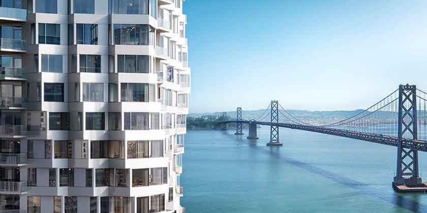 40-этажный небоскреб MIRA в Сан-Франциско | фото, видео