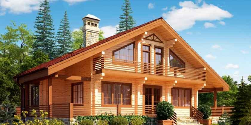 Профидированный брус - оптимальный выбор для эко-жилья