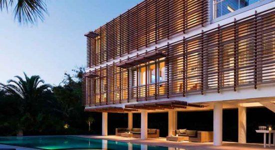 Вентилируемый фасад из скошенного планкена – советы по монтажу
