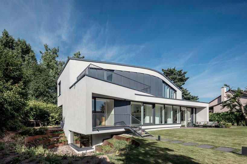 Современный загородный дом в Германии от One Fine Day