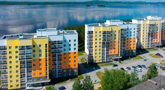 ЖК «Прибрежный» - квартиры на берегу озера в эконом сегменте