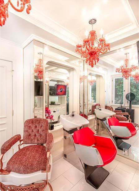 Собственный салон красоты в доме Серены Уильямс