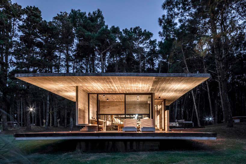 Проект дома от Besonías Almeida Arquitectos