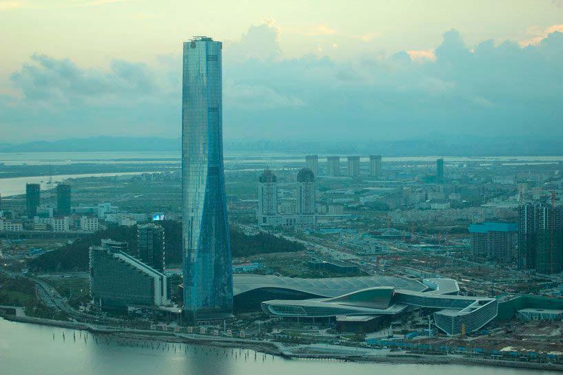 68-этажная башня в Китае. Проект RMJM Architects